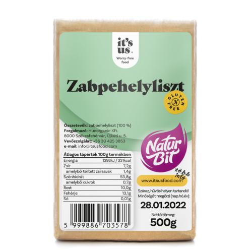 It's us Naturbit zabpehelyliszt 500g