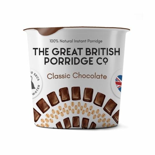 The Great British Porridge csokoládés poharas zabkása 60g